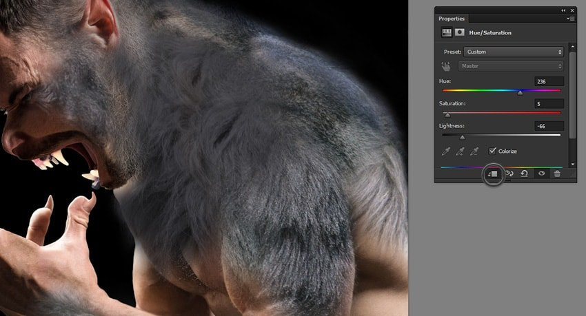 how to change fur color in photoshop
