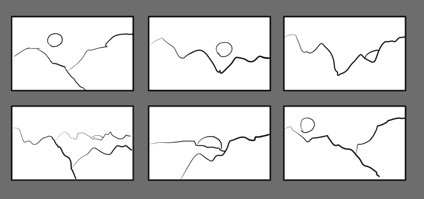 how to create thumbnail sketches