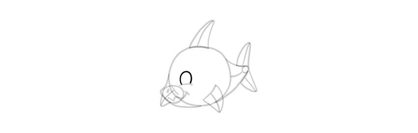 chibi shark eyes