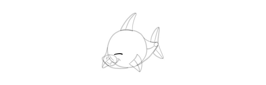 chibi shark eyes base