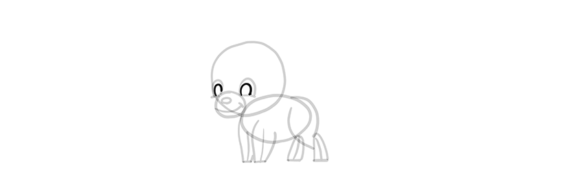 chibi wolf pupils
