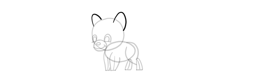 chibi wolf ears