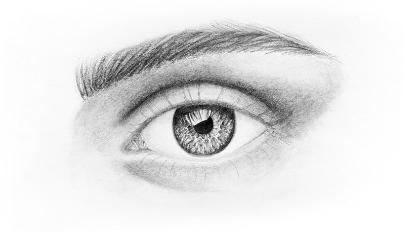 how to draw lower eyelashes