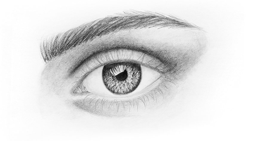 how to draw natural eyelashes