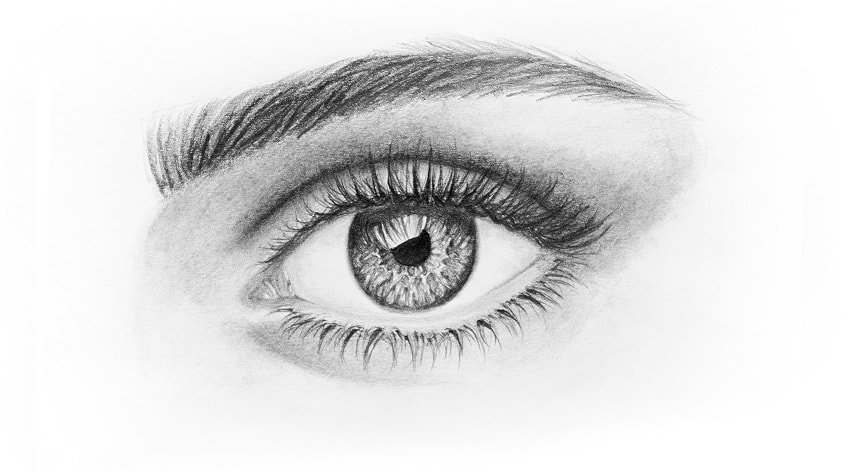how to draw beautiful eyelashes