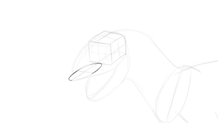 how to draw ellipsoid in perspective