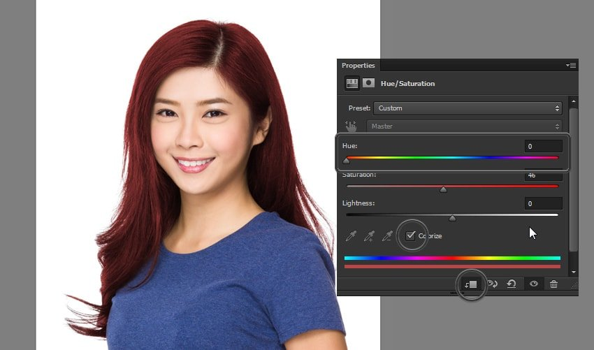 how to colorize hair