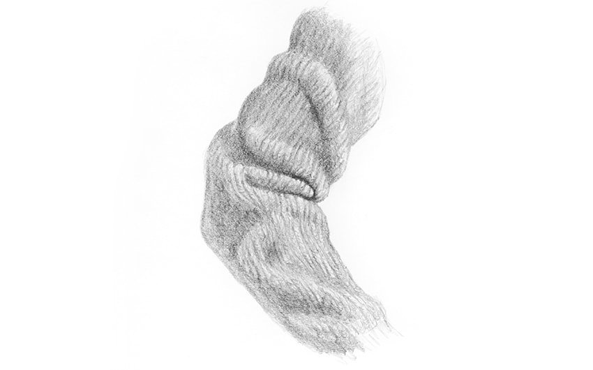 how to draw realistic wool