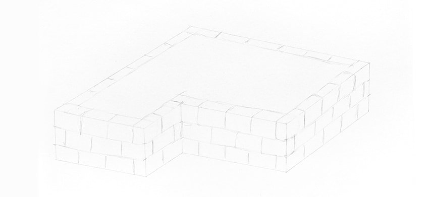 bricks made of stone
