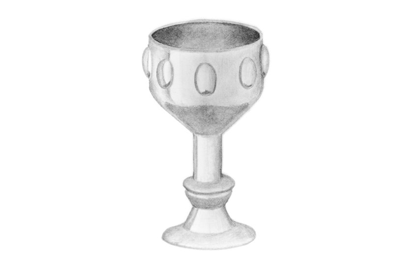 shinu metal cup inside
