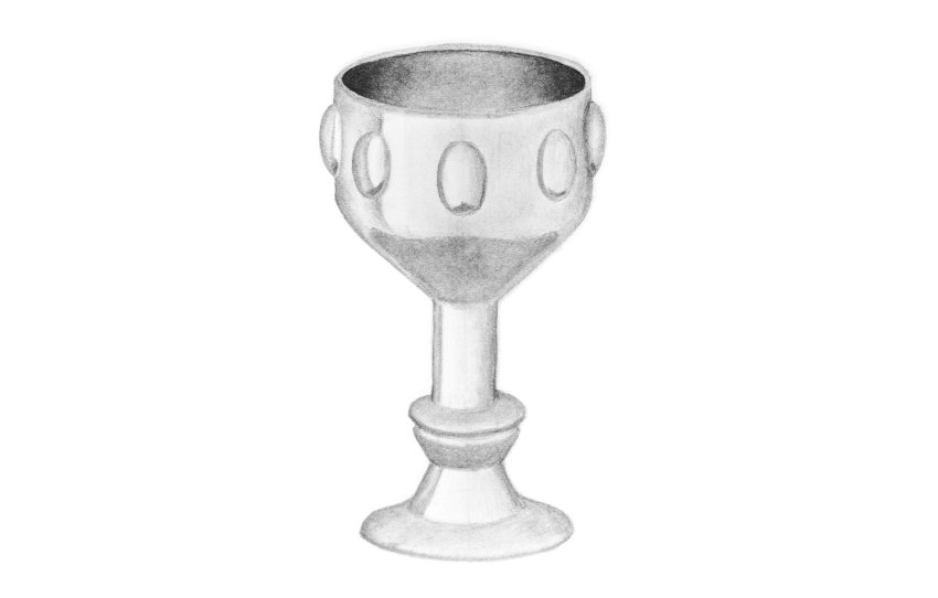 shading 3d cup