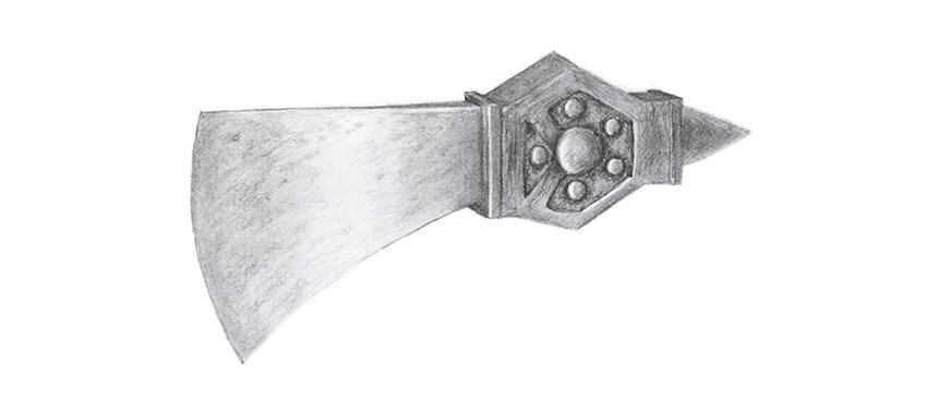 how to draw neglected blade