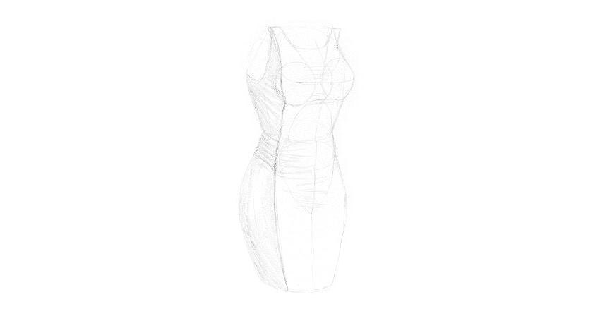 how to draw seam
