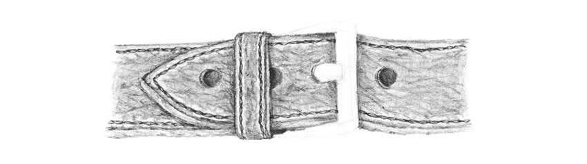 how to draw leather texture in detail