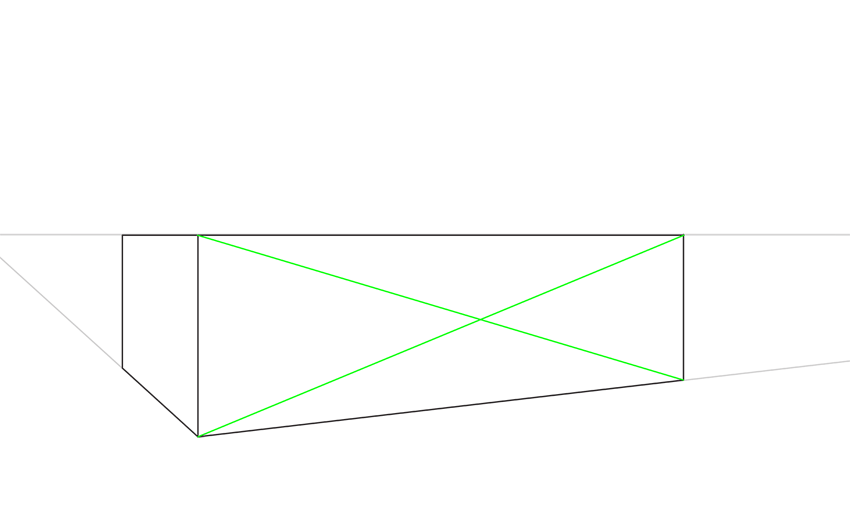 how to draw halves in perspective
