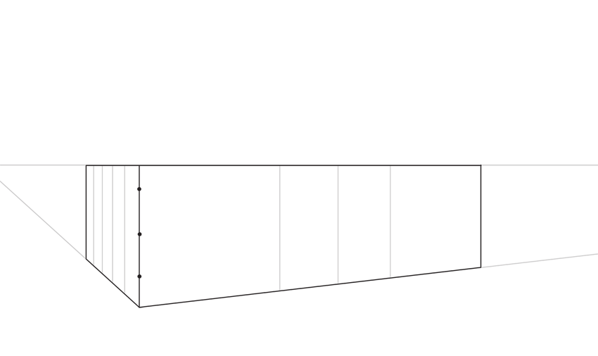 perspective divide horizontally