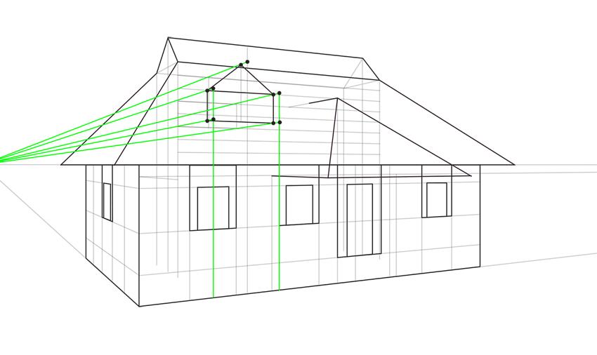 triangular window proportions