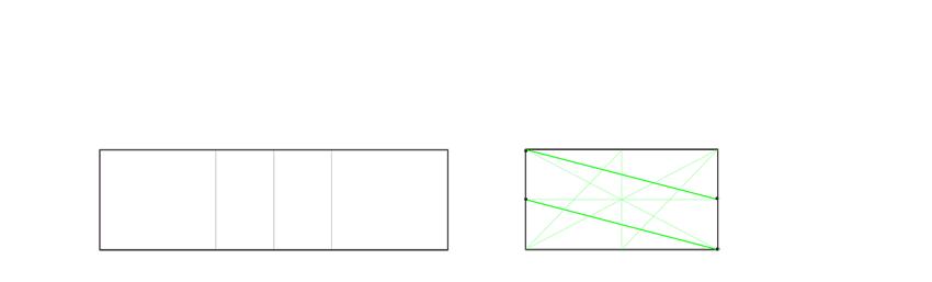draw diagonals