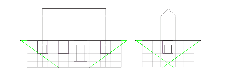 house perspective proportions