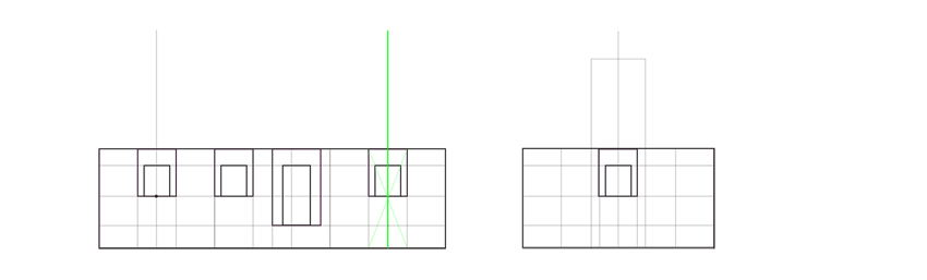 how to make proportions constant front view