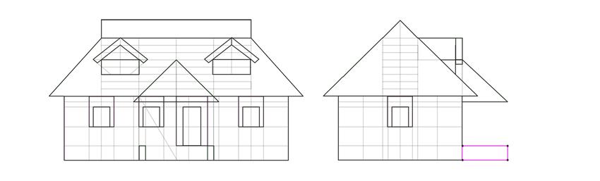 little walls of porch