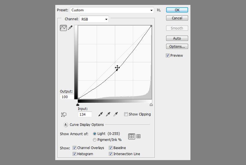 photoshop curves editor