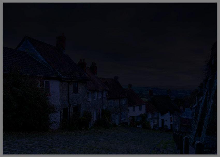 night photo filter