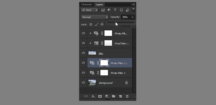 duplicate adjustment layer