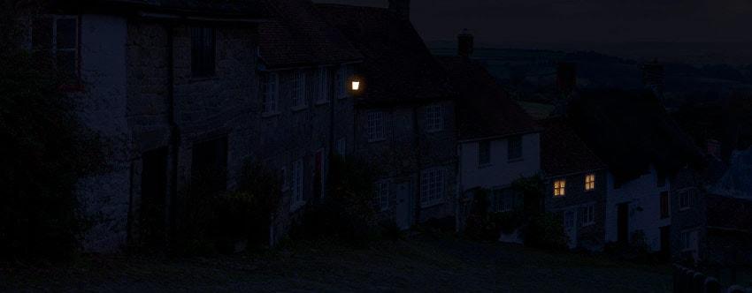 glowing lantern photoshop