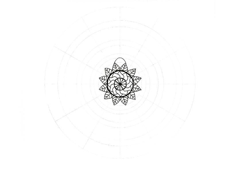 mandala new pattern