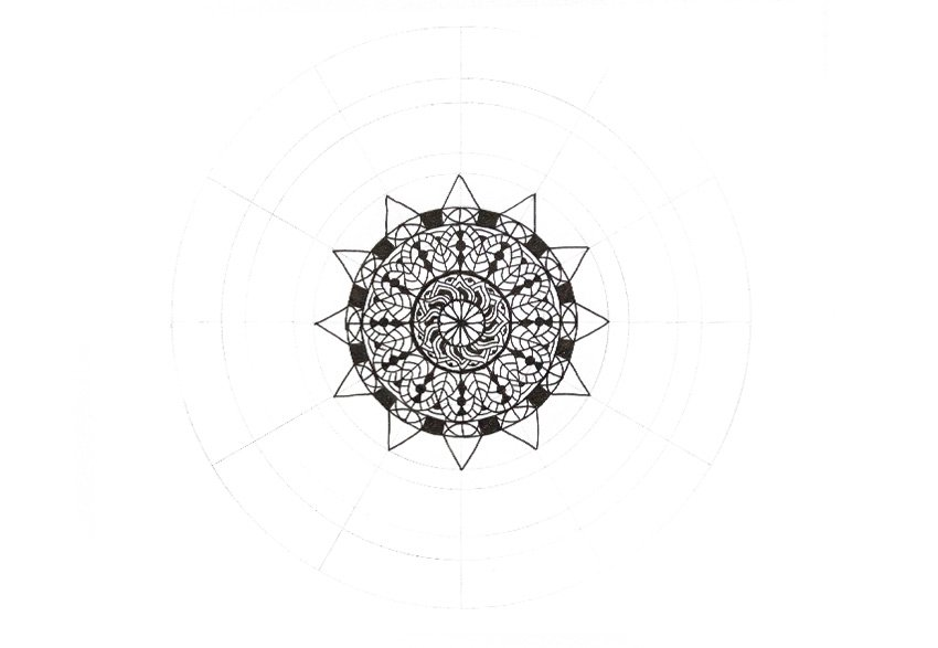 mandala all triangles