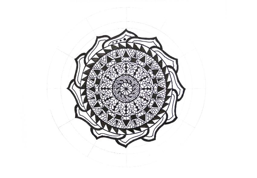 mandala more dots