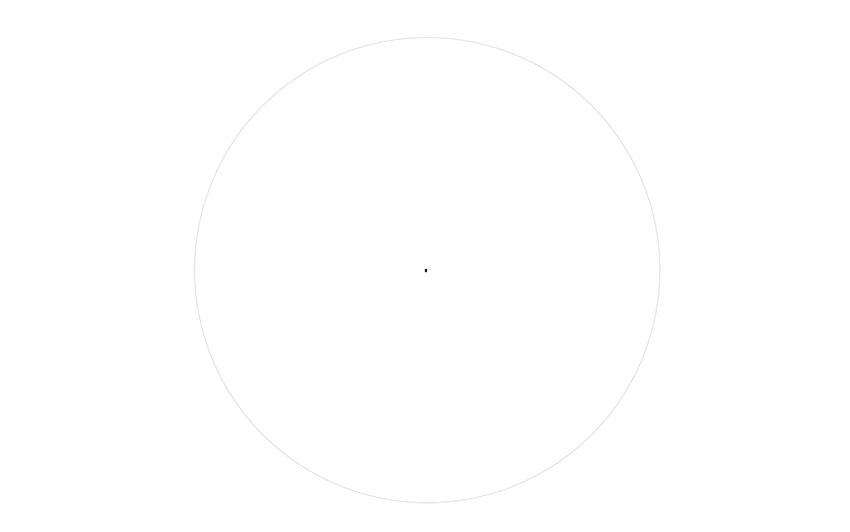 spider web drawing compass circle