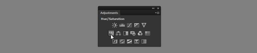 photoshop adjustments panel