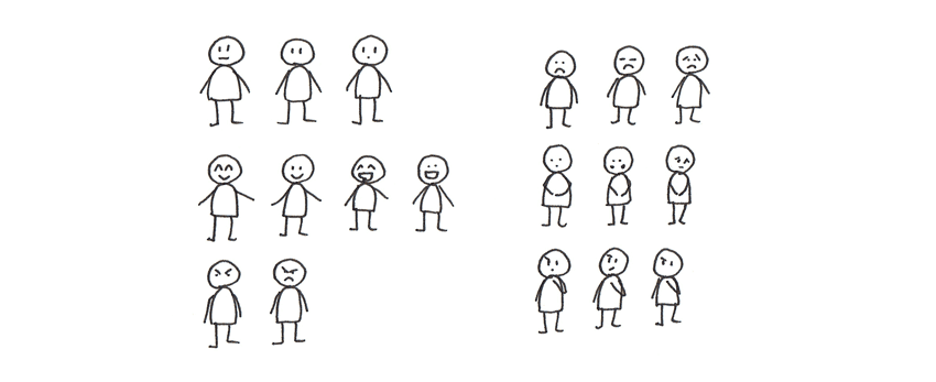 how to design simple human emotions