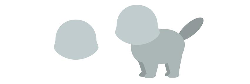 simple cat head