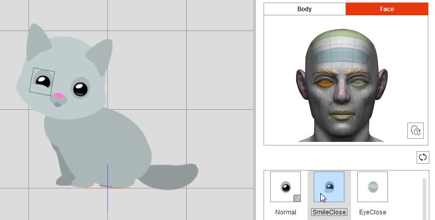 smiling eyes crazytalk animator