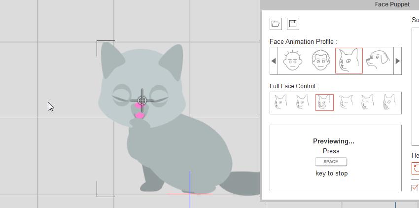 make character blink crazytalk animator