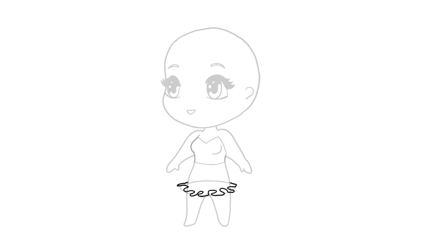 drawing chibi frills