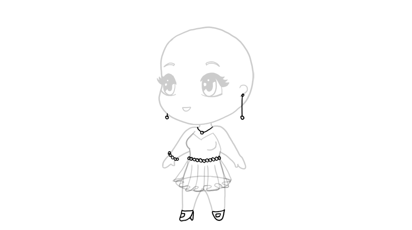drawing chibi accessories