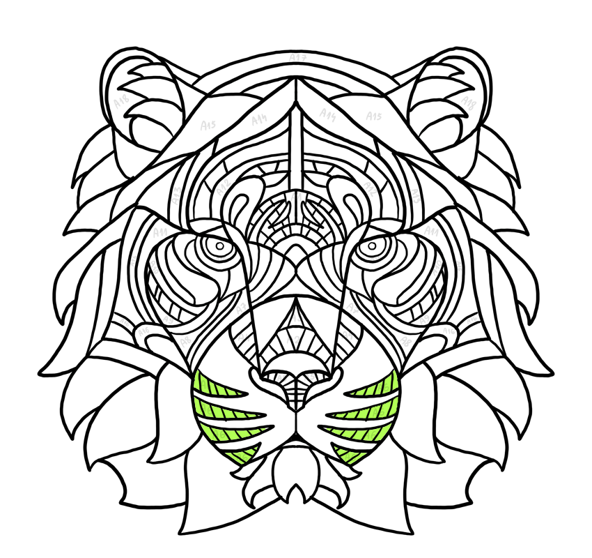 whiskers shading