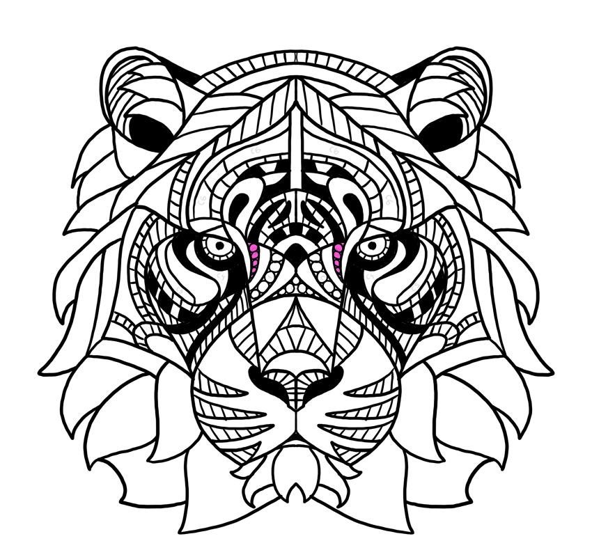lines around the eyes