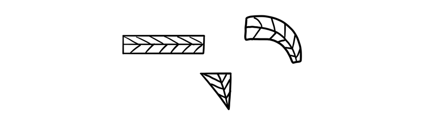 fill area with leaf pattern