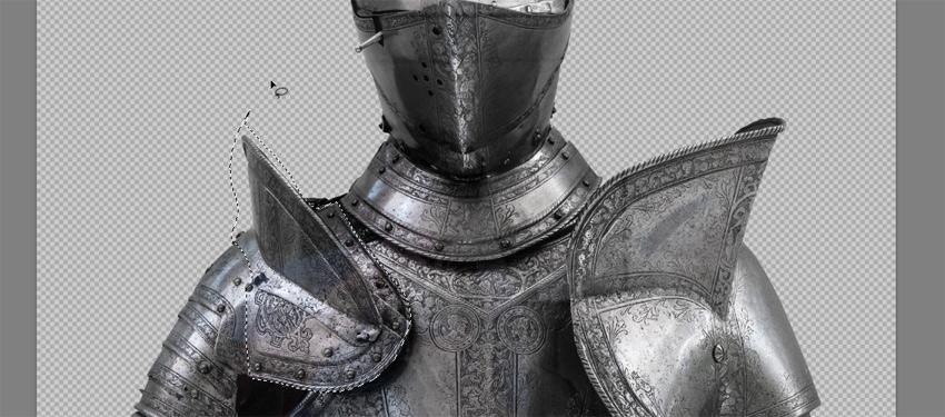 cut the breast armor