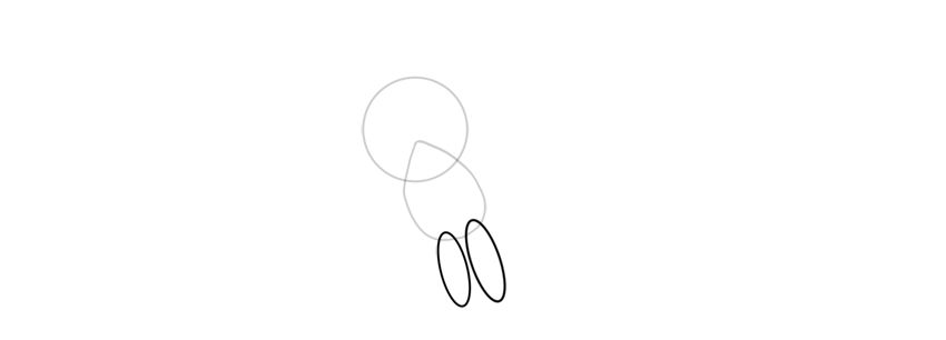 draw legs of butterfree