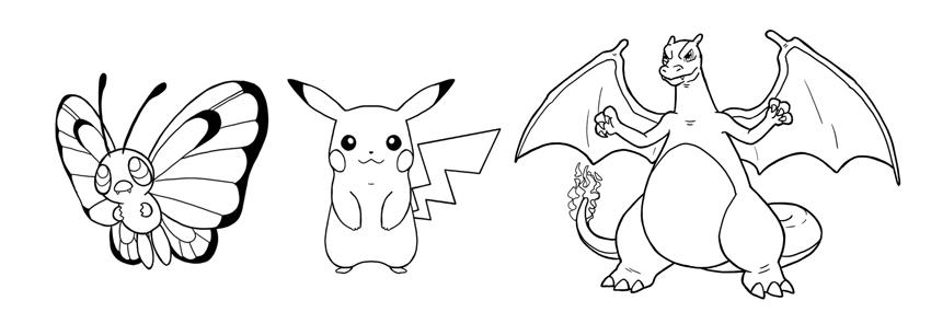 how to draw pokemon step by step