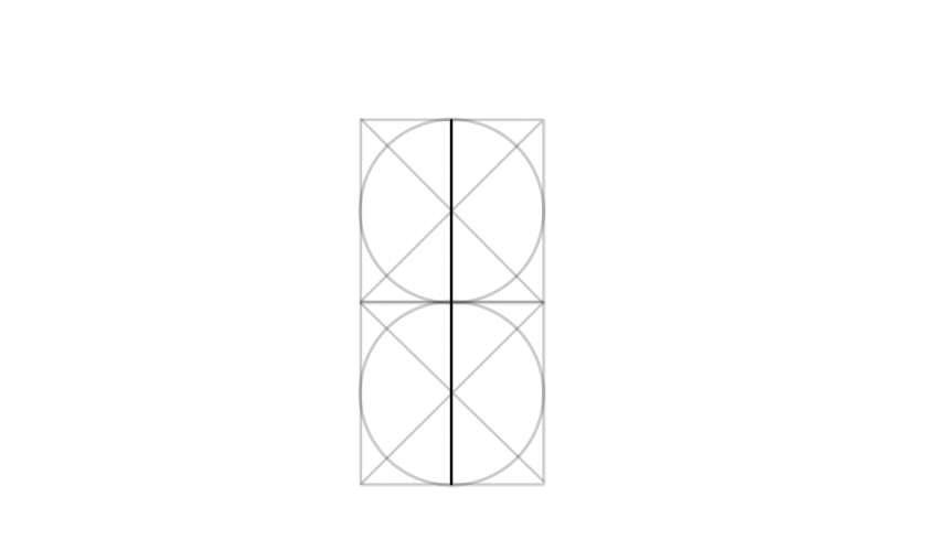 draw vertical line