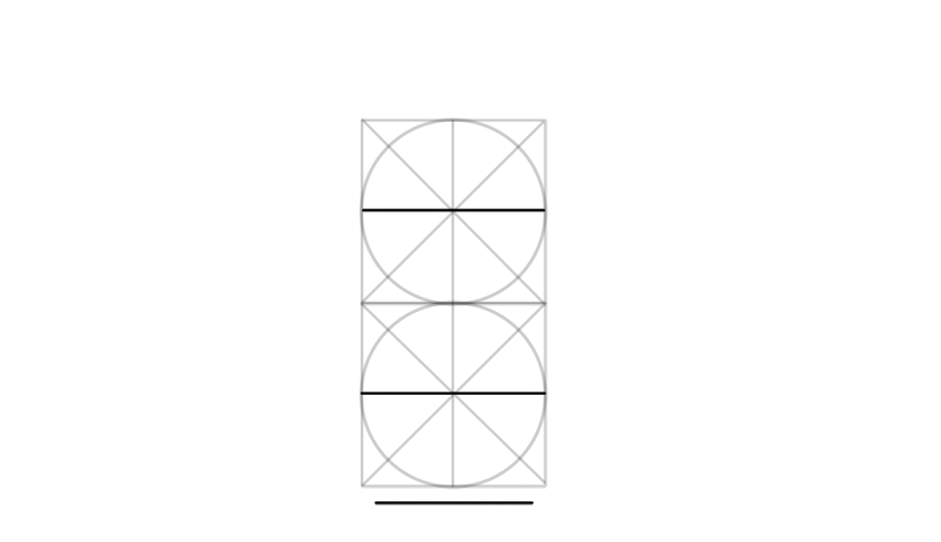 draw horizontal line