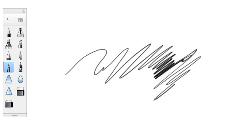 sketchbook felt tip pen