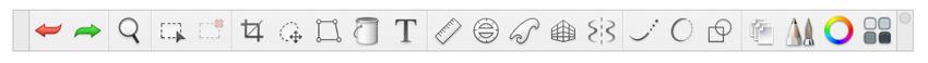 sketchbook toolbar